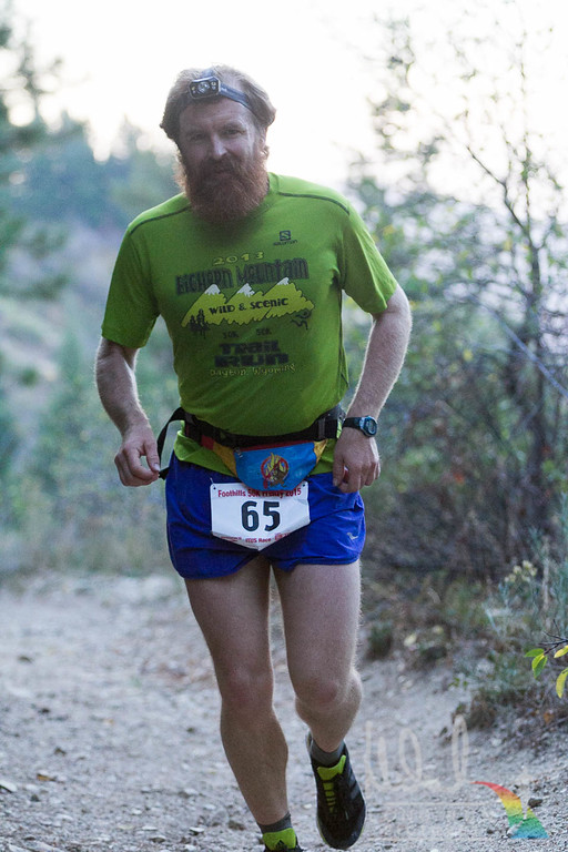 Sporting a genuine ultramarathon beard
