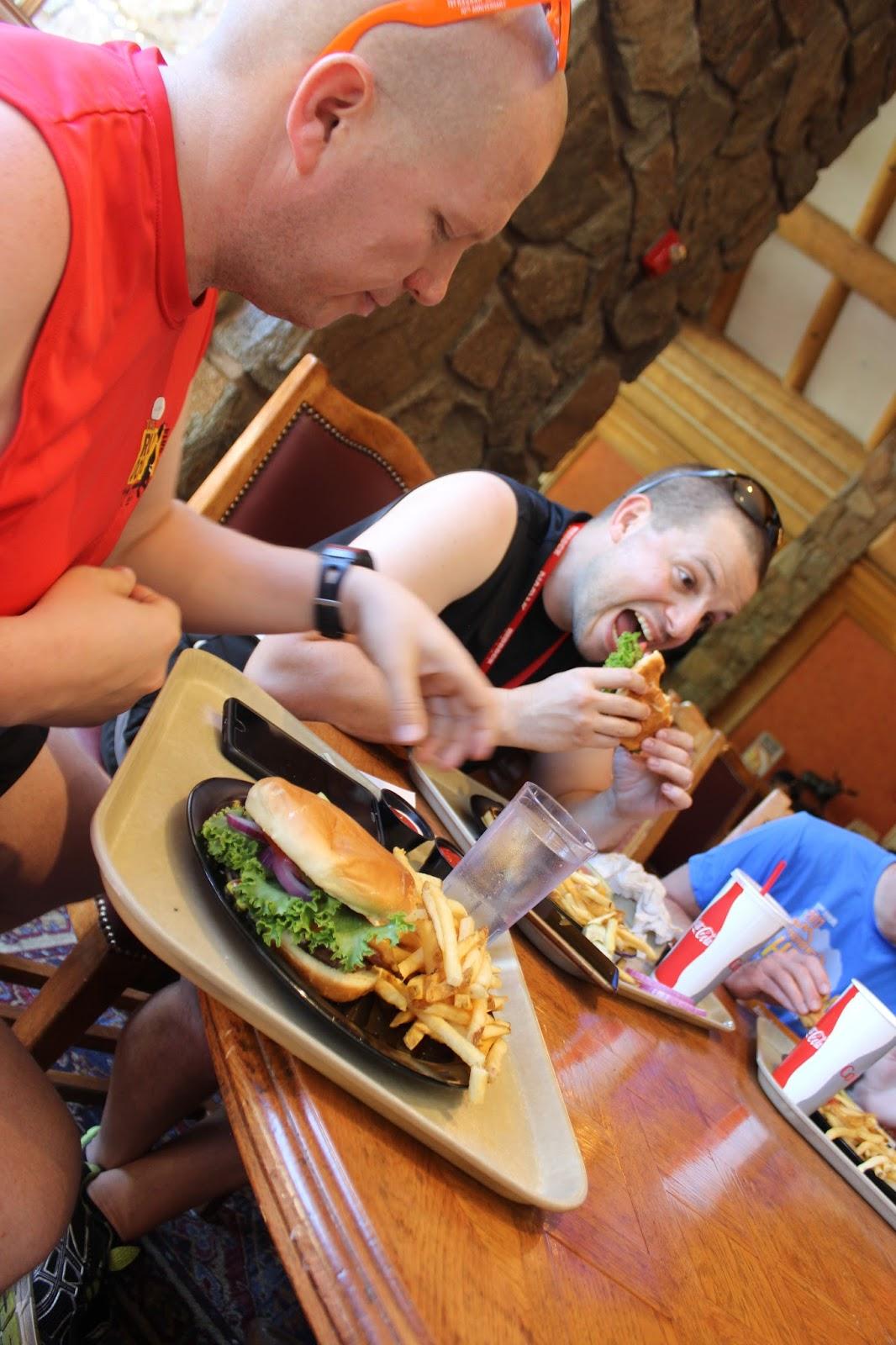 Burgers for Ragnar Dinner
