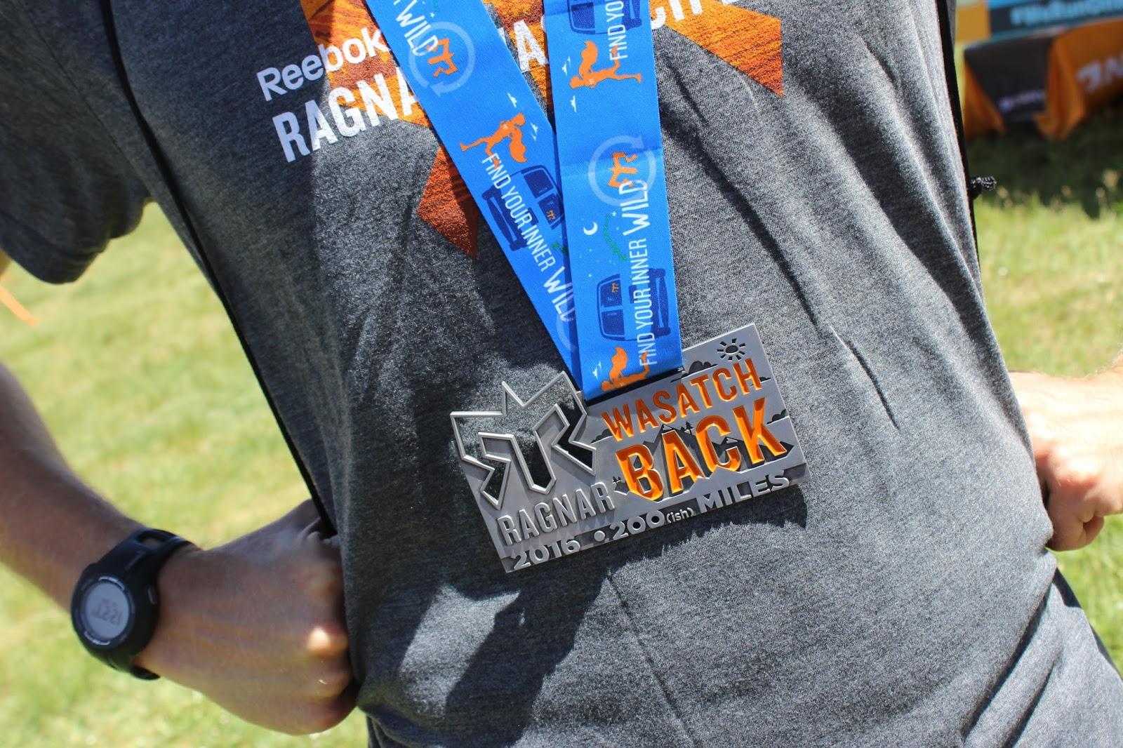 2016 Ragnar Wasatch Back Medal