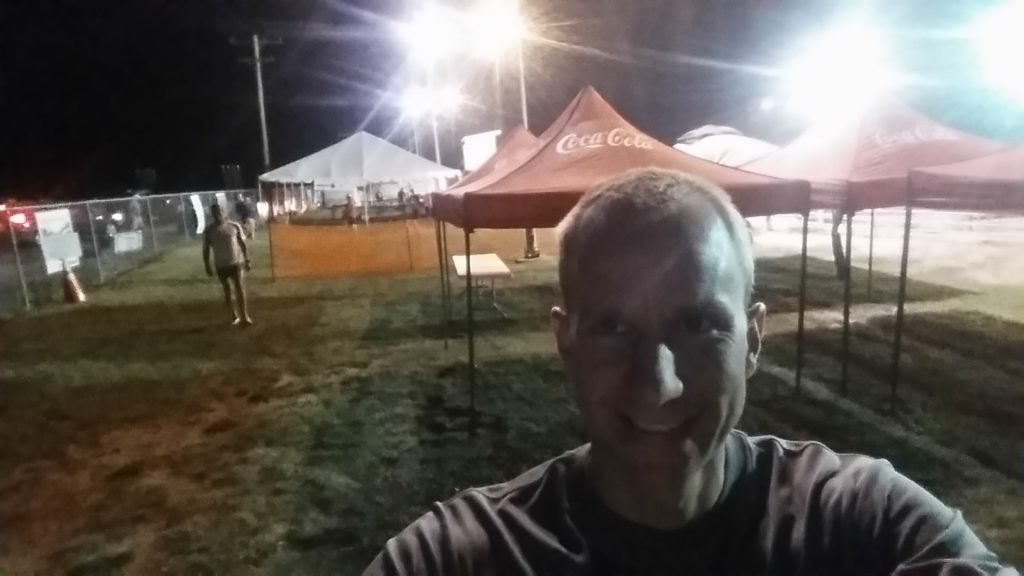 Picked up my packet in the wee hours of the morning at the Morgan Valley Marathon.