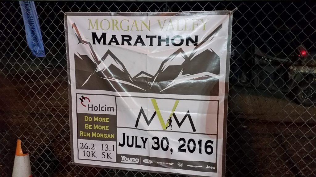 Morgan Valley Marathon Banner