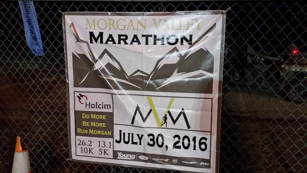 Morgan Valley Marathon Banner