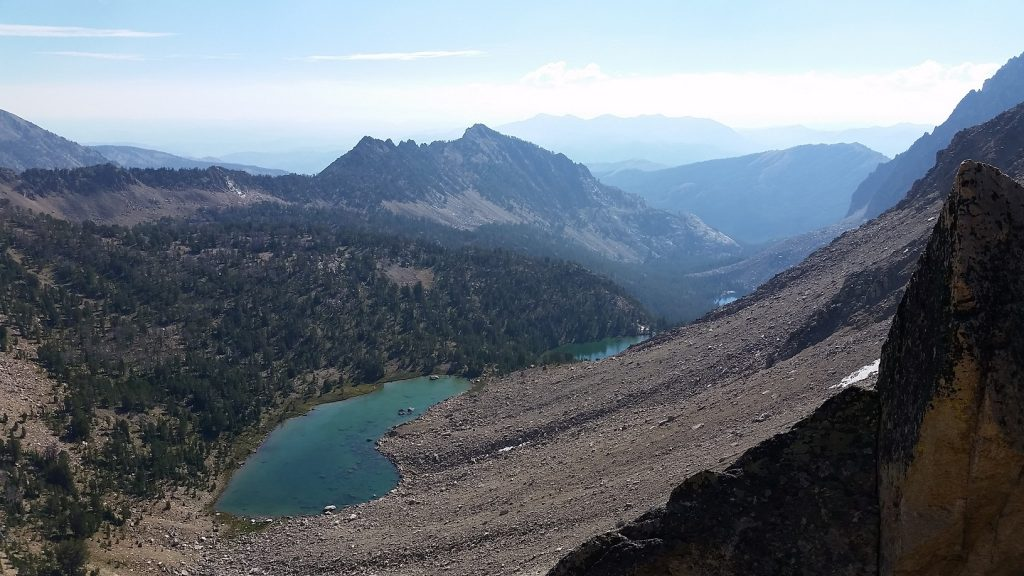 Shallow Lake, Scree Lake, and Noisy Lake