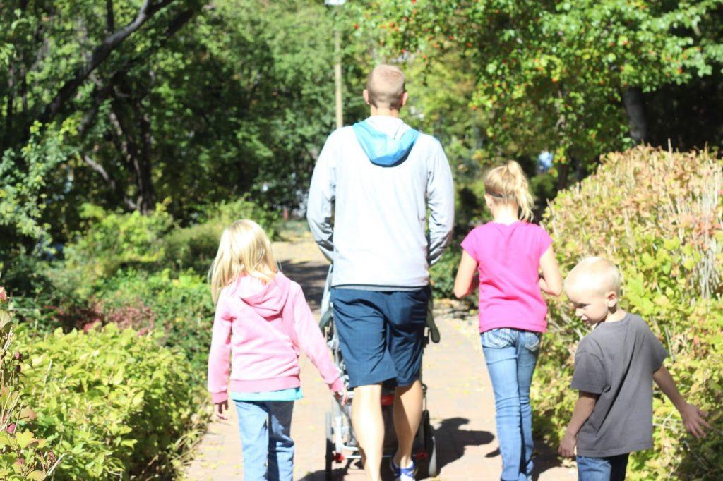 Walking around the BYU campus a couple days before the Layton Marathon