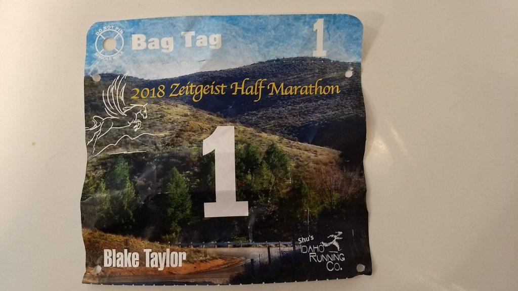 half marathon – blake runs