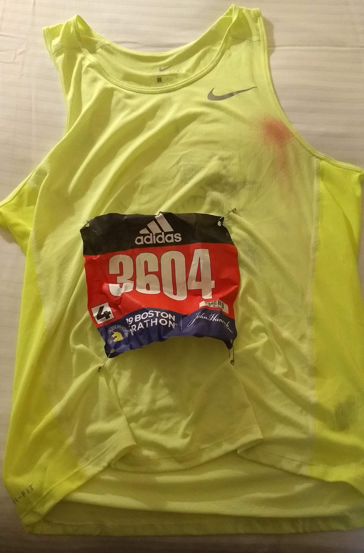 123rd Boston Marathon (2019) Race Report