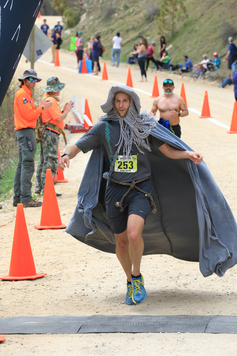 Race to Robie Creek 2019 as Gandalf the Grey