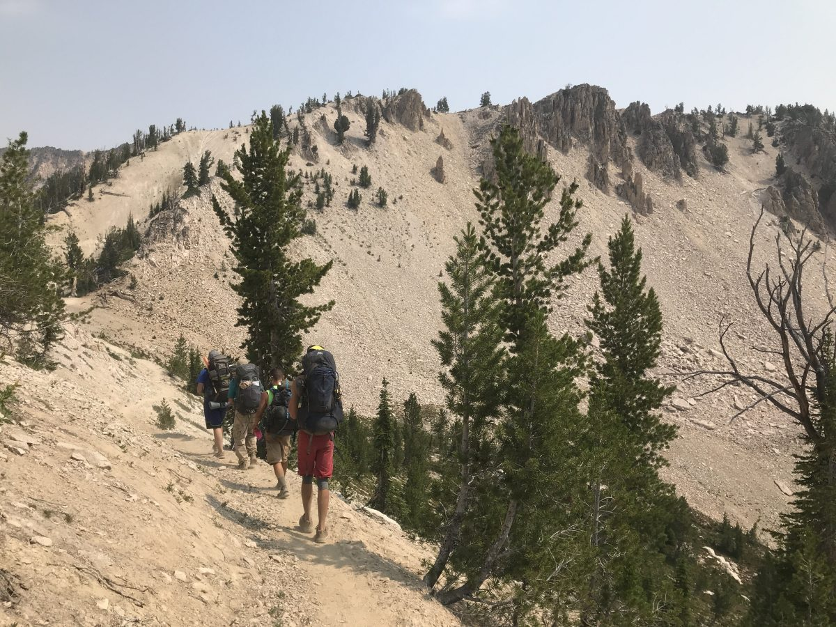50 Mile Backpacking Trip in the Sawtooth Wilderness
