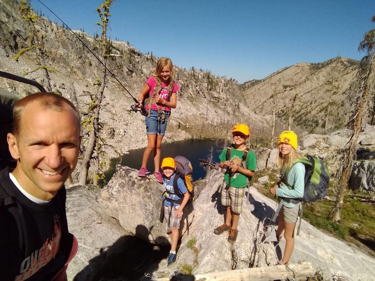 Trail Creek Lakes from Grandjean – July 2019
