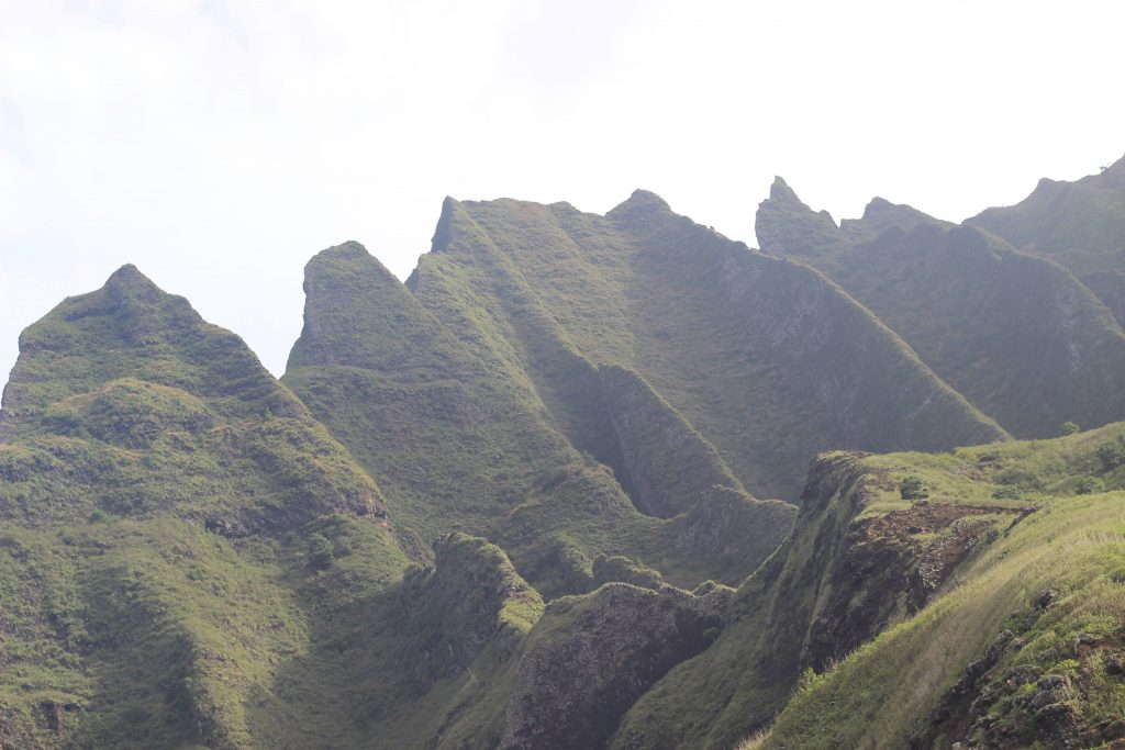Jagged Mountains near the Kalalau Trail